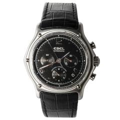 Ebel Stainless Steel Chronograph Automatic Wristwatch