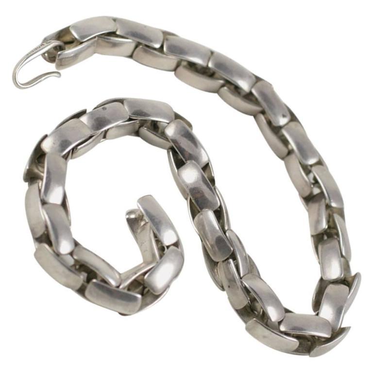 Substantial Robert Lee Morris Sterling Silver Collar 1