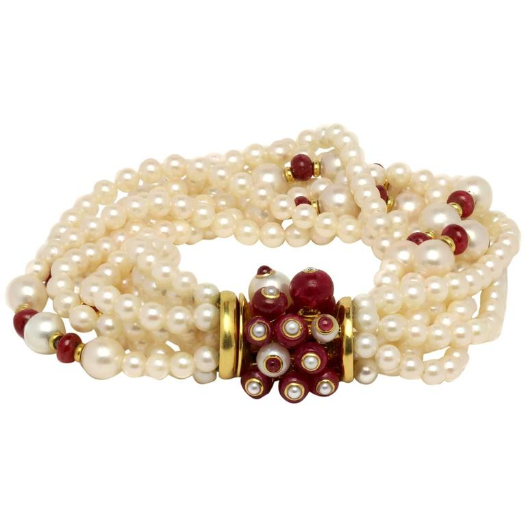 Trianon Pearl Bracelet At 1stdibs
