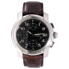 Baume & Mercier Geneve Stainless Steel Automatic Wristwatch