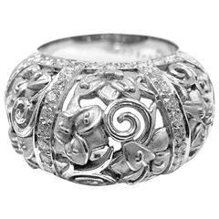 Carrera Y Carrera Taj Mahal Diamond White Gold Ring