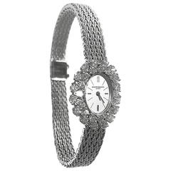 Vacheron Constantin Lady's White Gold Diamond Wristwatch