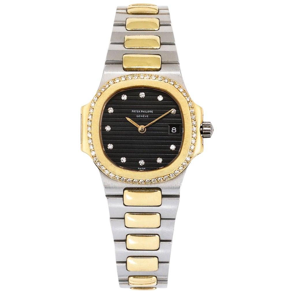 Patek Philippe Nautilus Diamond Ladies Wristwatch