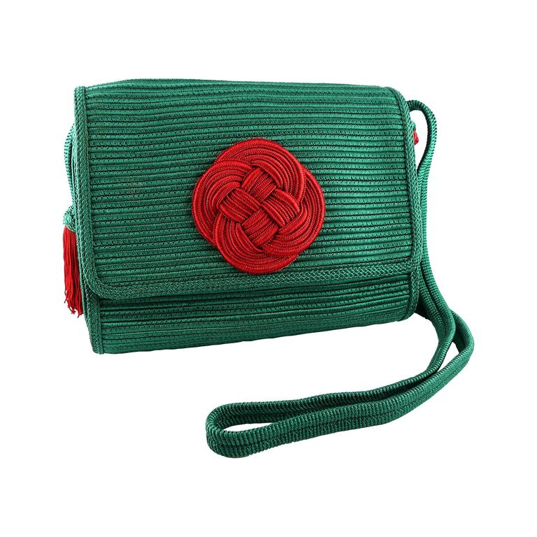Yves Saint Laurent YSL Vintage Chinoiserie Tassel Purse at 1stdibs 91e75b174d2a7