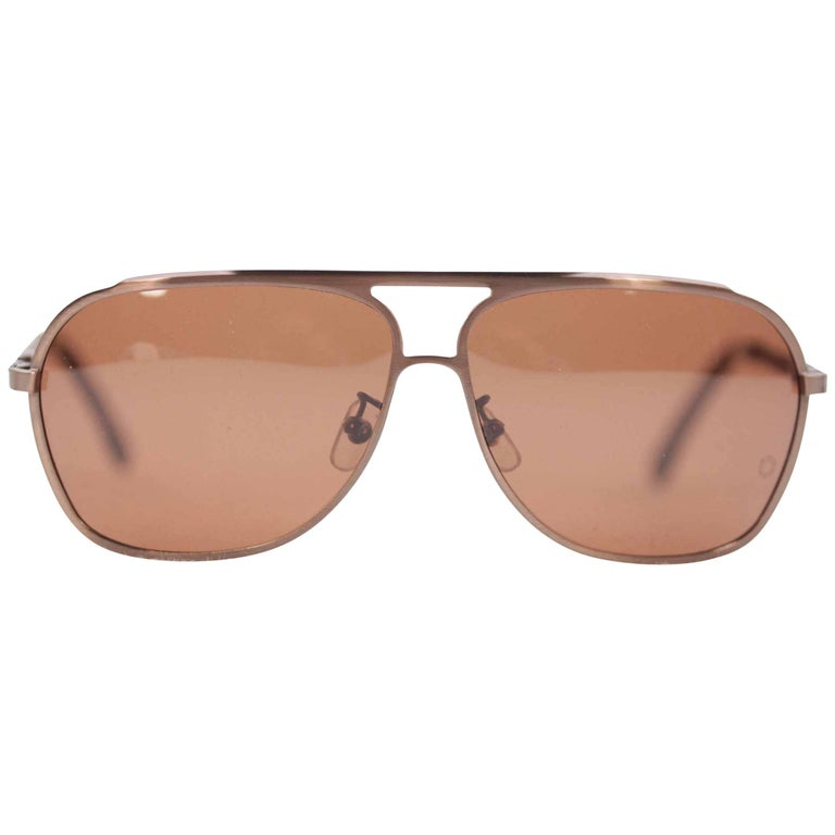 MONTBLANC Brown Mod MB MEN SUNGLASSES Shades W CASE - What is an invoice number eyeglasses online store