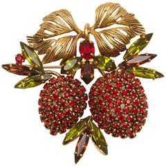 1964 Christian Dior Berry Vintage Brooch
