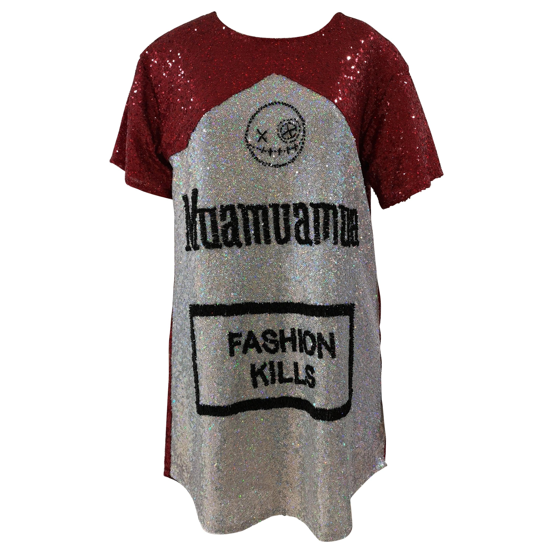 House of Muamua sequins dress