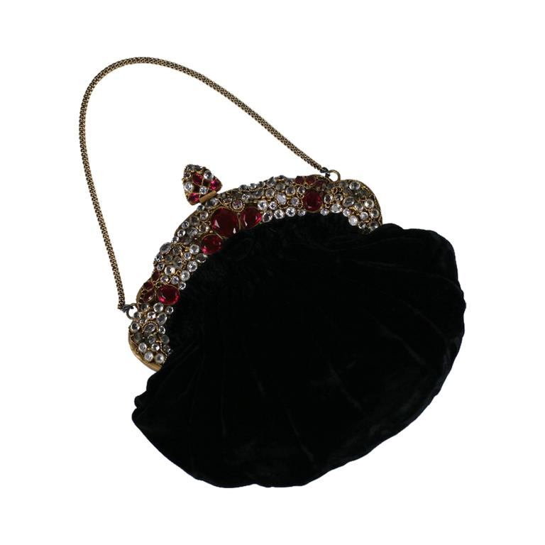 Hobe Gem Encrusted Evening Bag