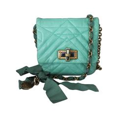 Lanvin Aqua Happy Mini Pop Crossbody Handbag - GHW