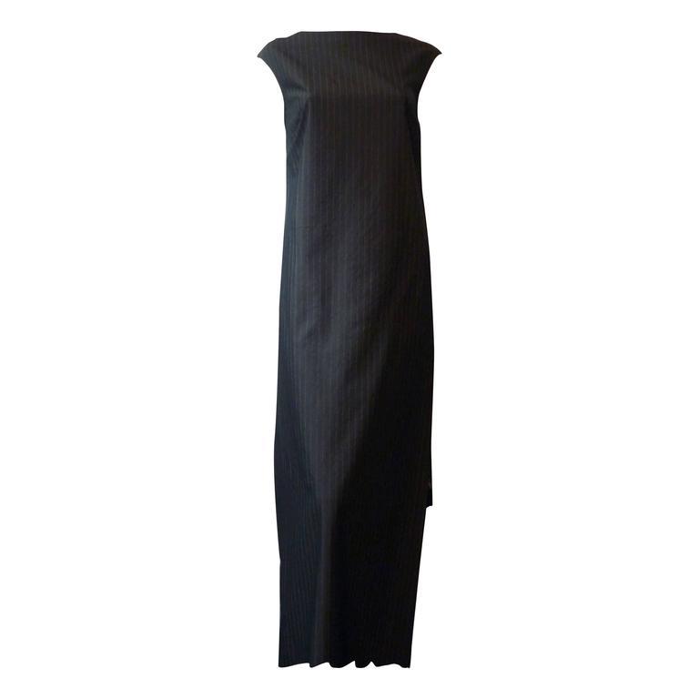 A.F. Vandevorst male front female back Not So Simple Dress (38) For Sale