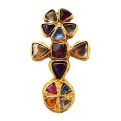 Rare Robert Goossens for Gabrielle Chanel Pendant Brooch ca.1955