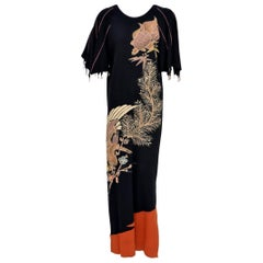 Midori Matsumoto  Long Dress Japanese Couture 1980's