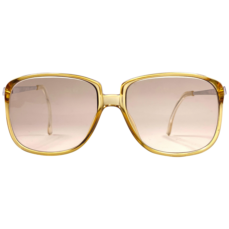 New Vintage Christian Dior Monsieur 2090 21 Sunglasses 1970's Austria