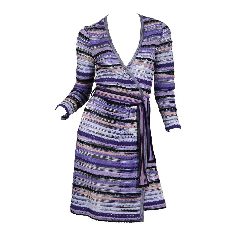 Missoni Knit Wrap Dress