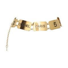 Chanel Vintage COCO Plate Belt