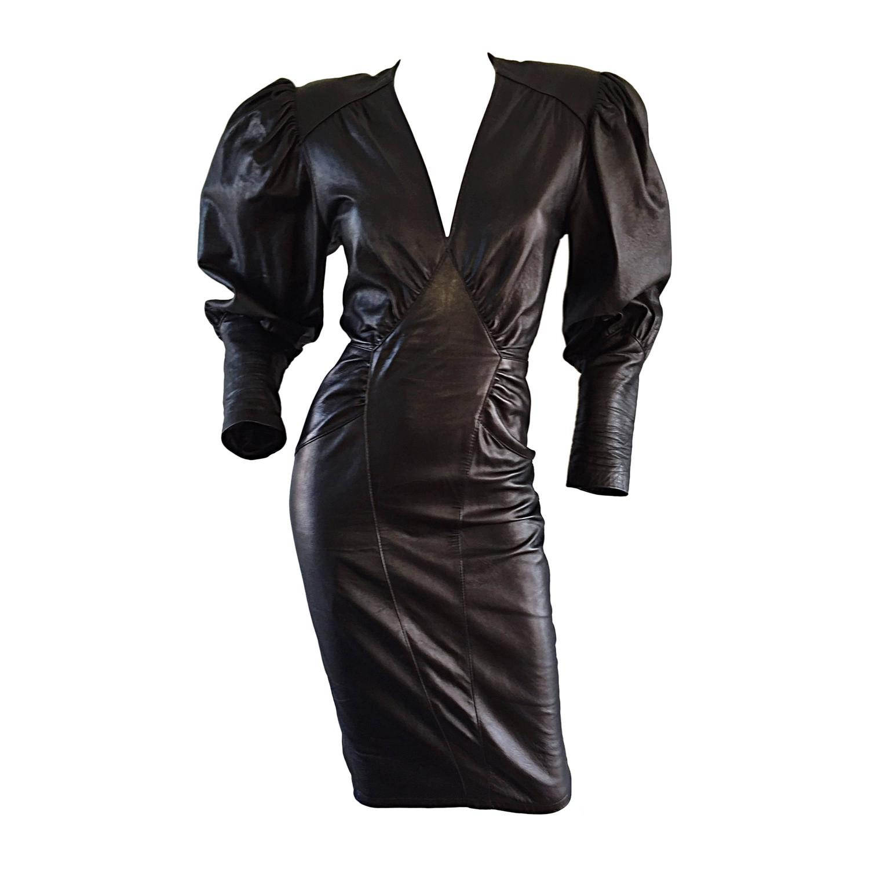 vintage 1980s leather 80s con avant