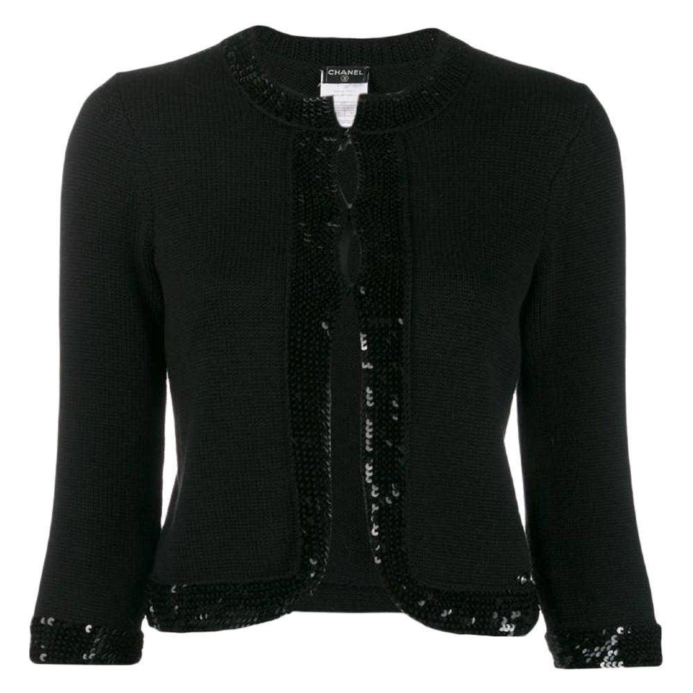 2000s Chanel Black Jacket