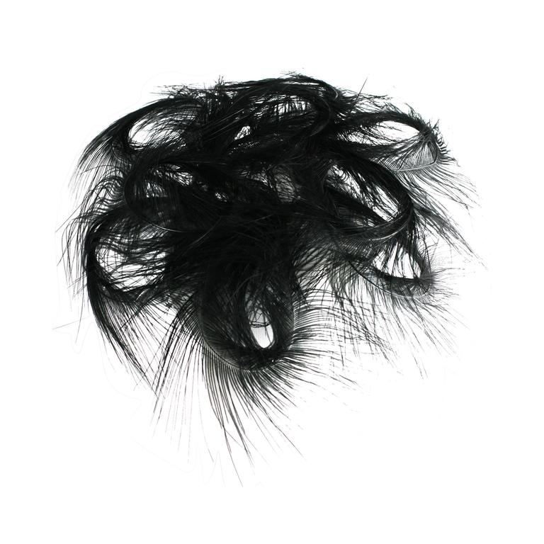 Egret Feather Swirled Fascinator 1