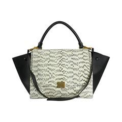 Celine Trapeze Python Small Bag