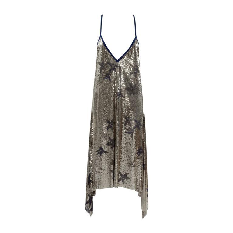 Gianni Versace Oroton Metal Mesh Gown, Fall-Winter 1984