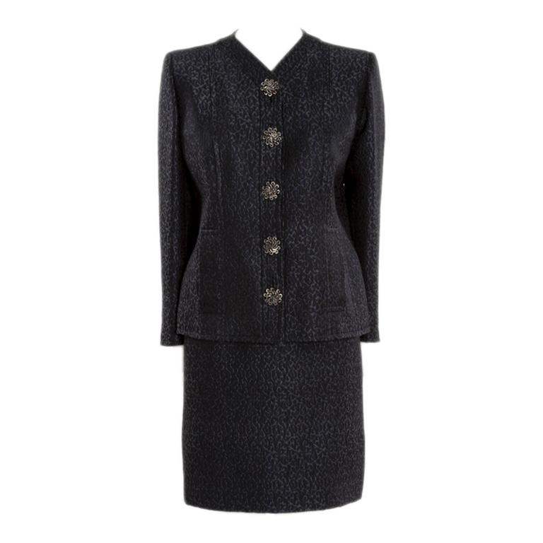 40ad1d495eb Yves Saint Laurent Haute Couture Skirt Suit For Sale at 1stdibs