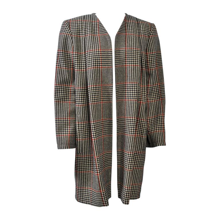 Valentino Glen Plaid Coat