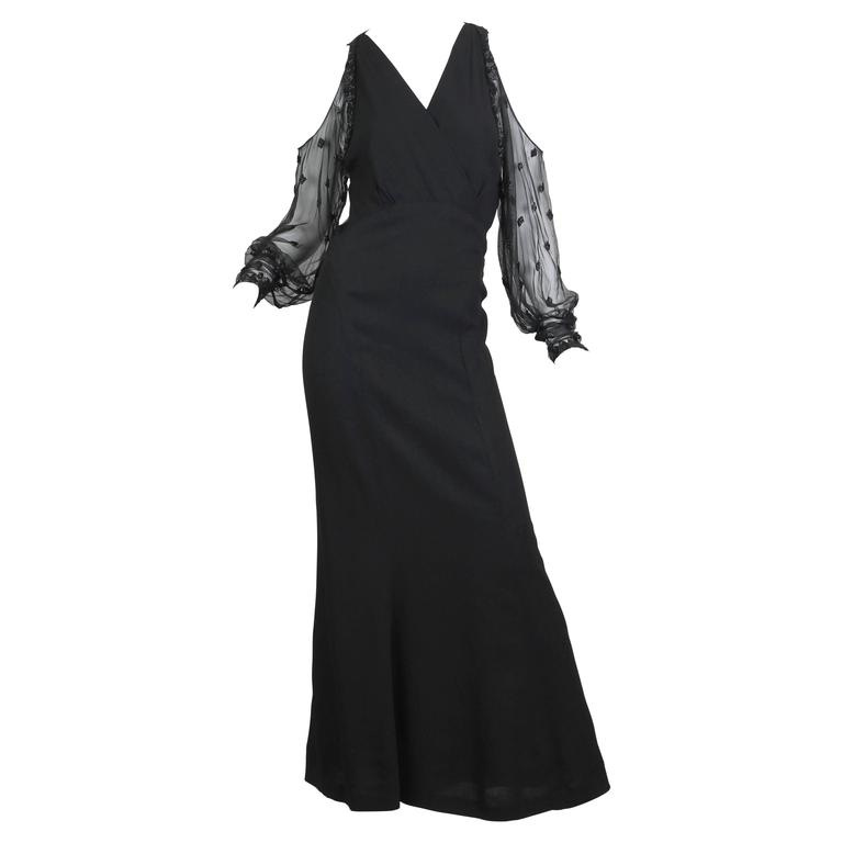 1930s Gown with Beading 1