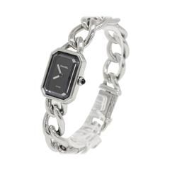 Chanel Premiere Stainless Steel Chain Watch
