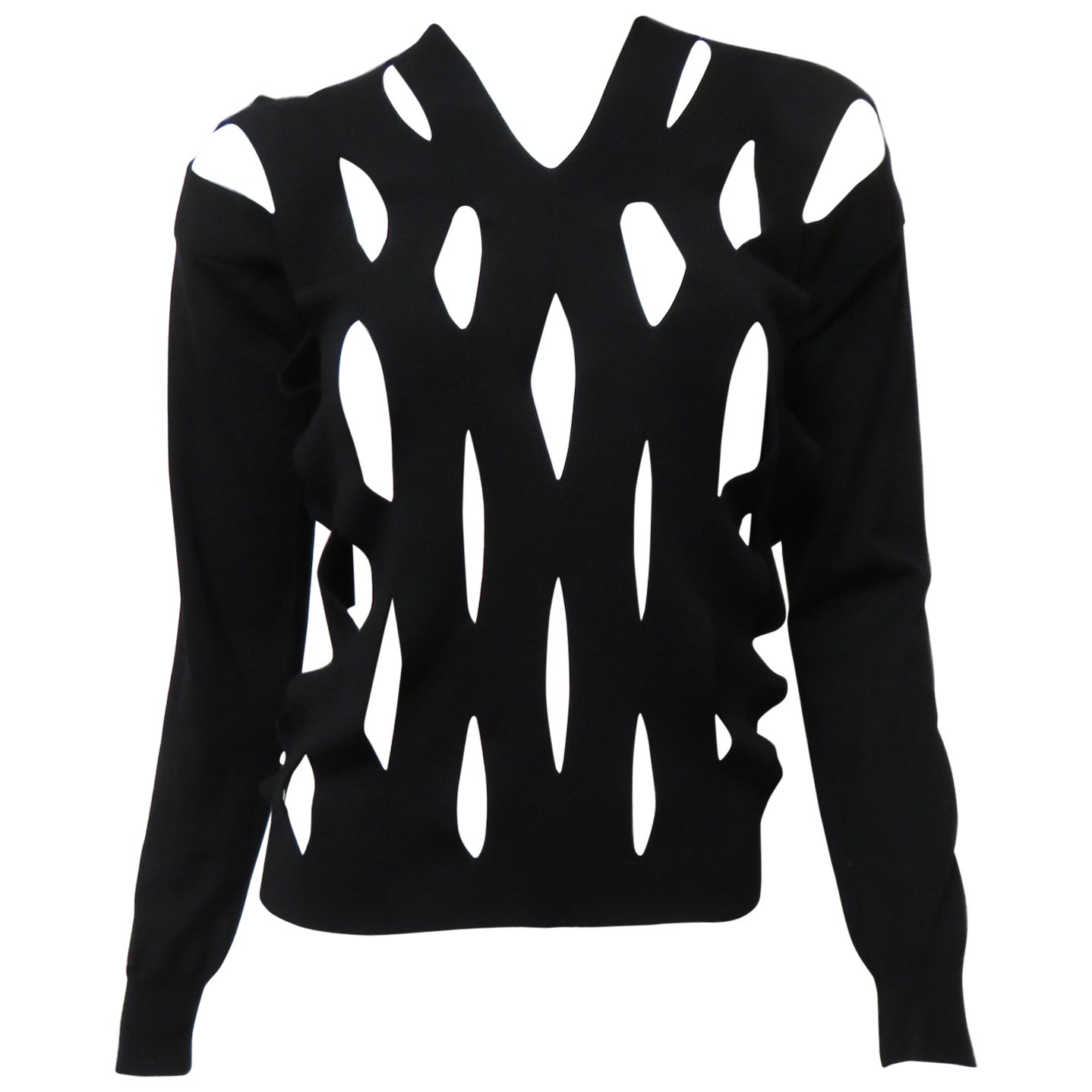 Comme des Garcons New Cut out Sweater