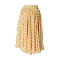 Rare Biba Silk Skirt 1970's