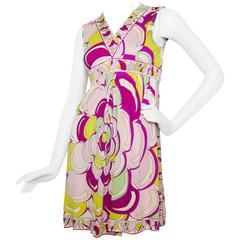 1960 Emilio Pucci Silk Jersey Dress