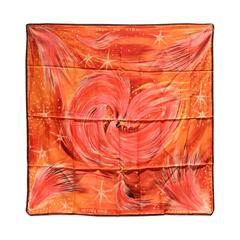 GORGEOUS Hermes Feux du Ciel Silk Scarf
