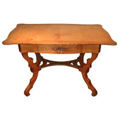 19th Century Satinwood Dressing Table Sewing Table