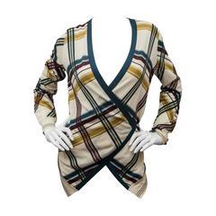 Hermes Patterned  Sweater Set