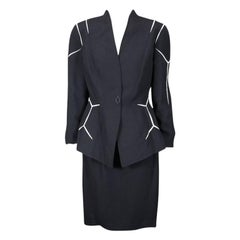 Mugler Honeycomb Motif Suit