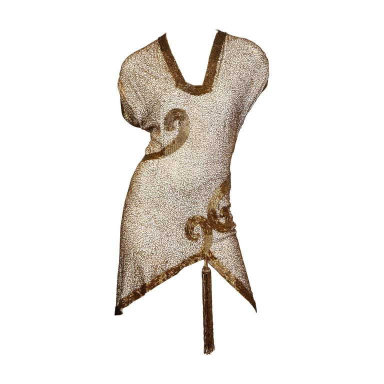 1930-40s Beaded Tunic