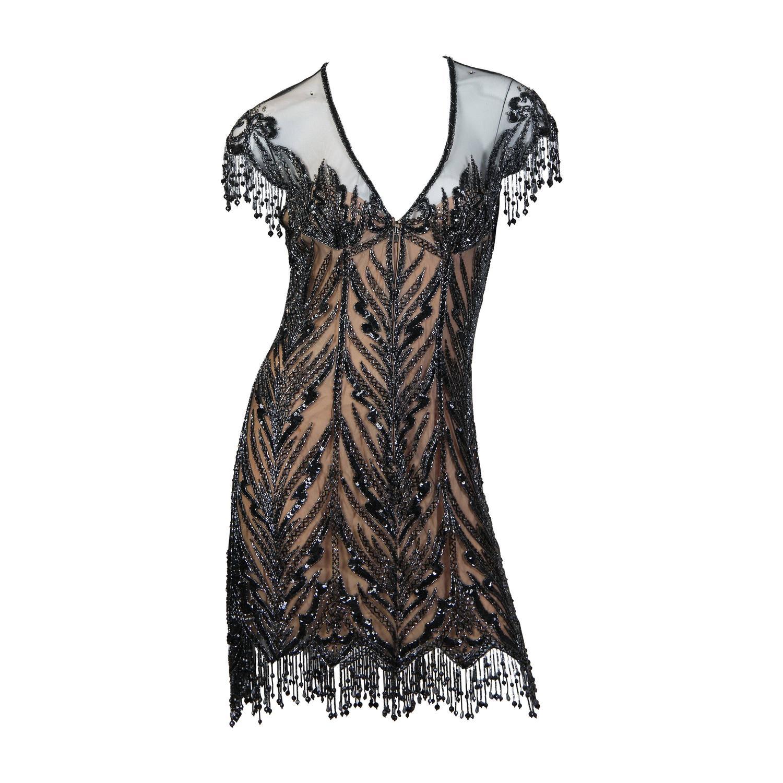 Bob Mackie Beaded Dress For Sale at 1stdibs