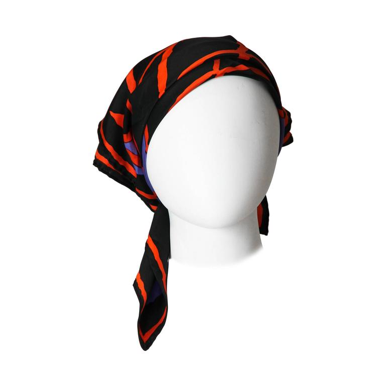 Givenchy Silk Scarf 1