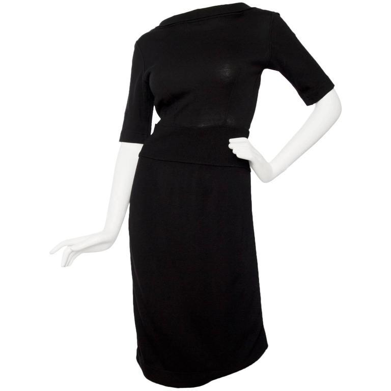 1990s Alaia Little Black Dress 1
