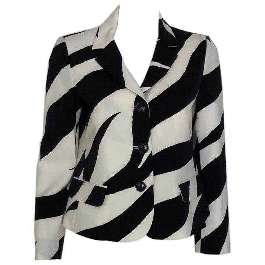 MOSCHINO Zebra blazer