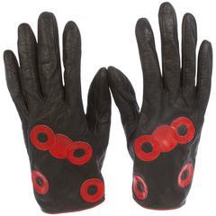 Vintage Pierre Cardin Lambskin Gloves