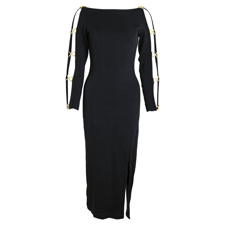 Tadashi Black Jersey Dress