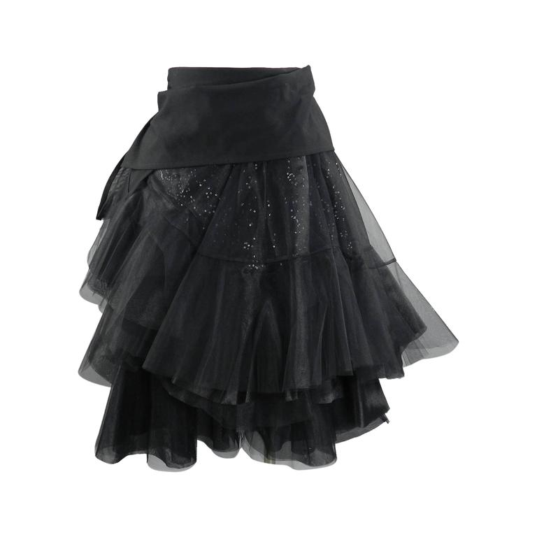 Junya Watanabe Comme des Garcons Fall 2014 Runway Tulle Skirt For Sale