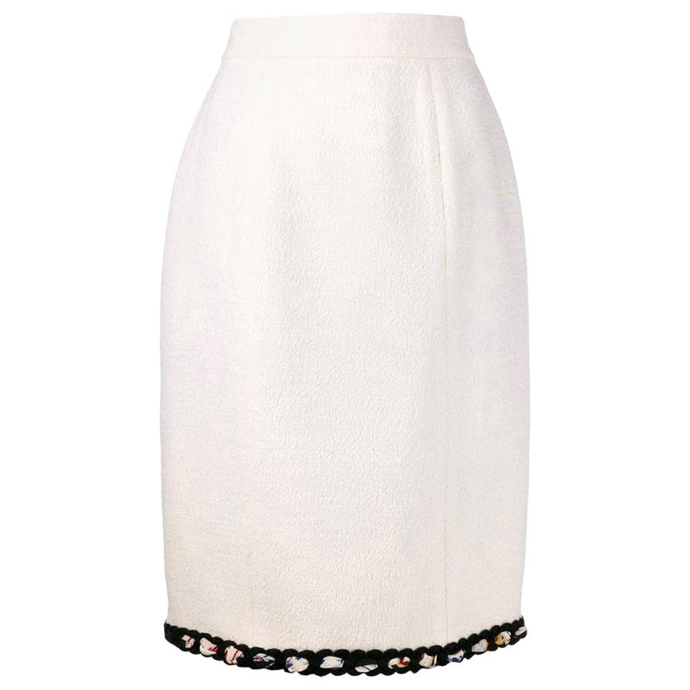 1990s Chanel Pencil Skirt