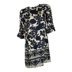 Chloe Floral Silk Print Dress