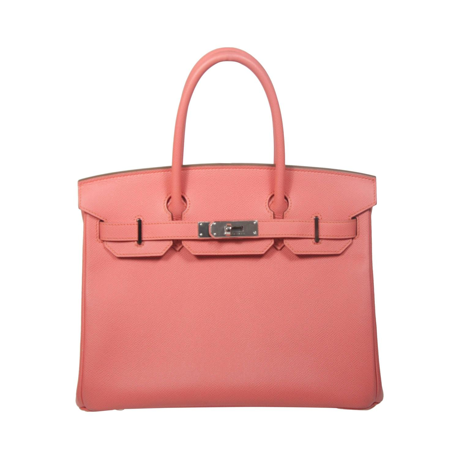 outlet bags usa fake - HERMES Birkin 30 Bag Rose Jaipur Pink Clemence Palladium For Sale ...