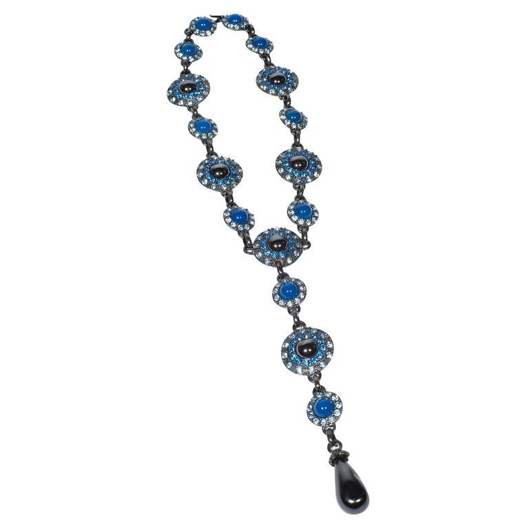 Yves Saint Laurent Rive Gauche Divine Long Necklace   1