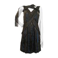 1990s Gucci by Tom Ford black dress