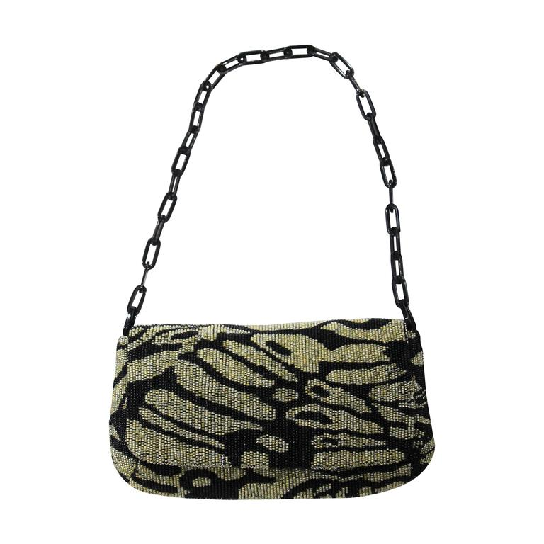 Tom Ford for Gucci beaded evening bag, c. 2000 For Sale