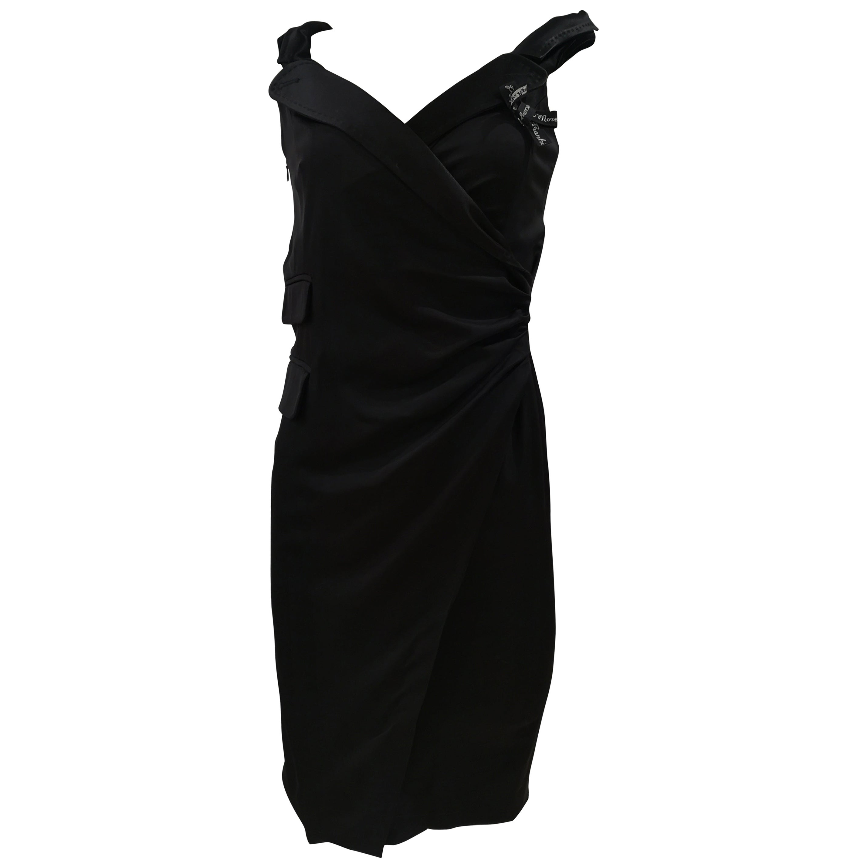 Frankie Morello black dress